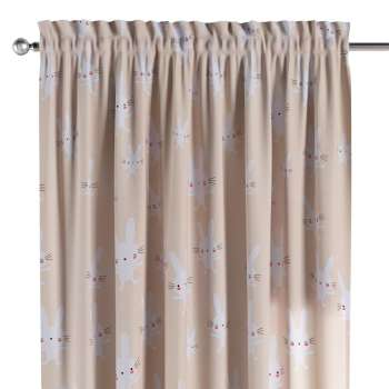Slot and frill curtains in collection Apanona, fabric: 151-00