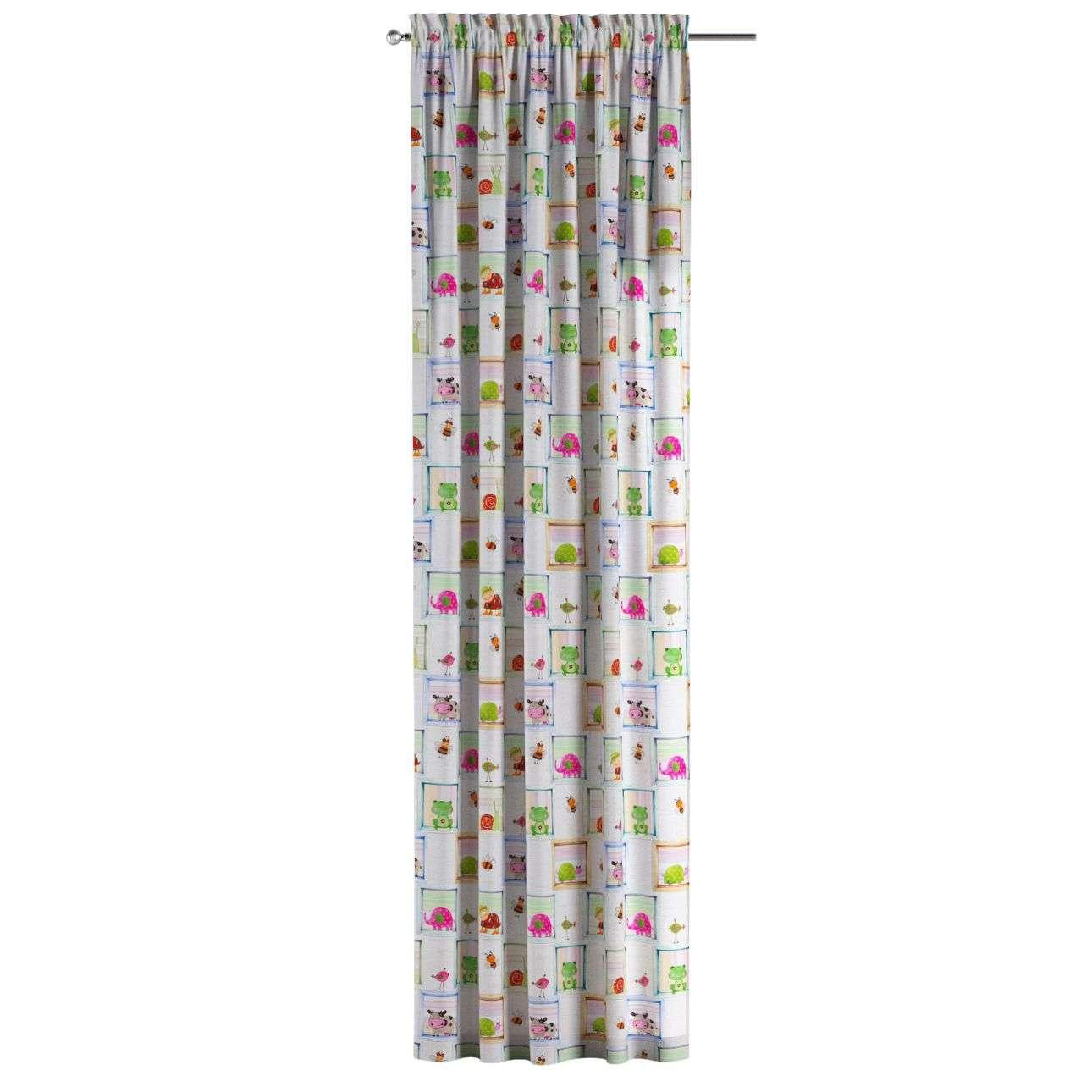Su paaukštintu viršumi užuolaidos 130 × 260 cm kolekcijoje Apanona, audinys: 151-04