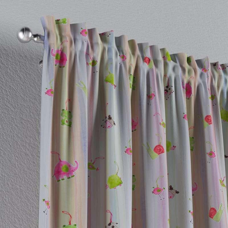 Záves s navliekacou riasiacou páskou V kolekcii Little World, tkanina: 151-05