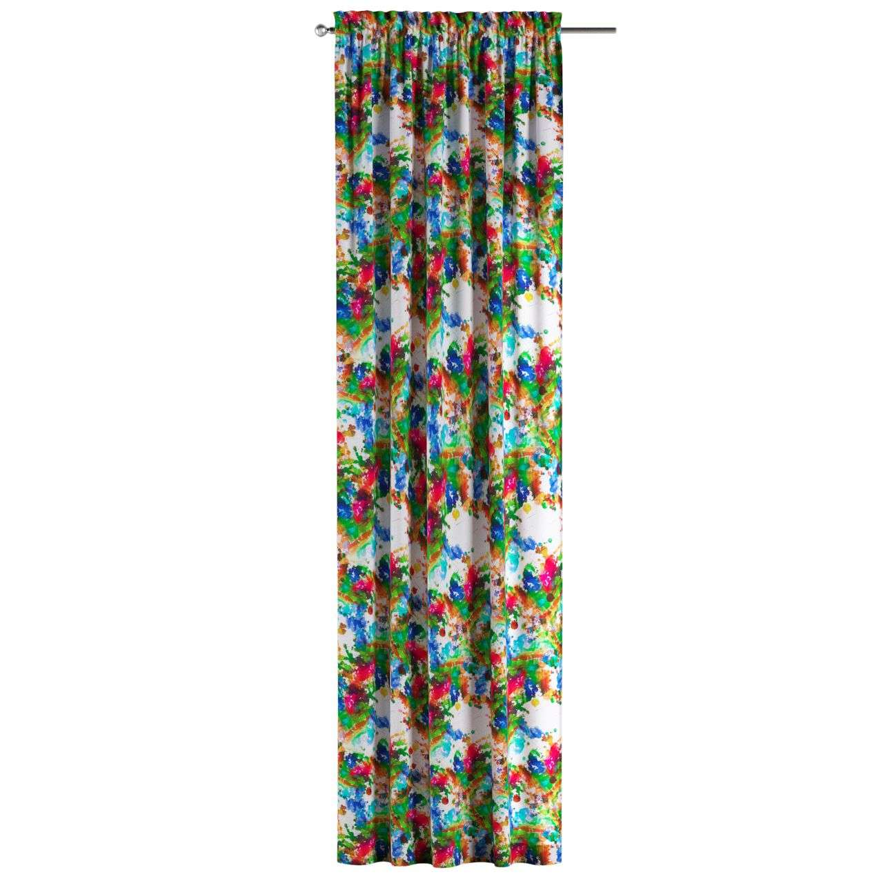 Slot and frill curtains in collection New Art, fabric: 140-23