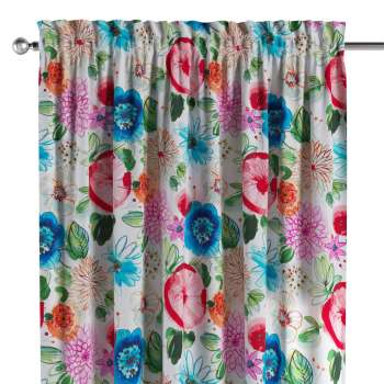 Slot and frill curtains in collection New Art, fabric: 140-24