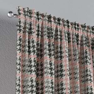Zasłona na kanale z grzywką 1 szt. 1szt 130x260 cm w kolekcji Brooklyn, tkanina: 137-75