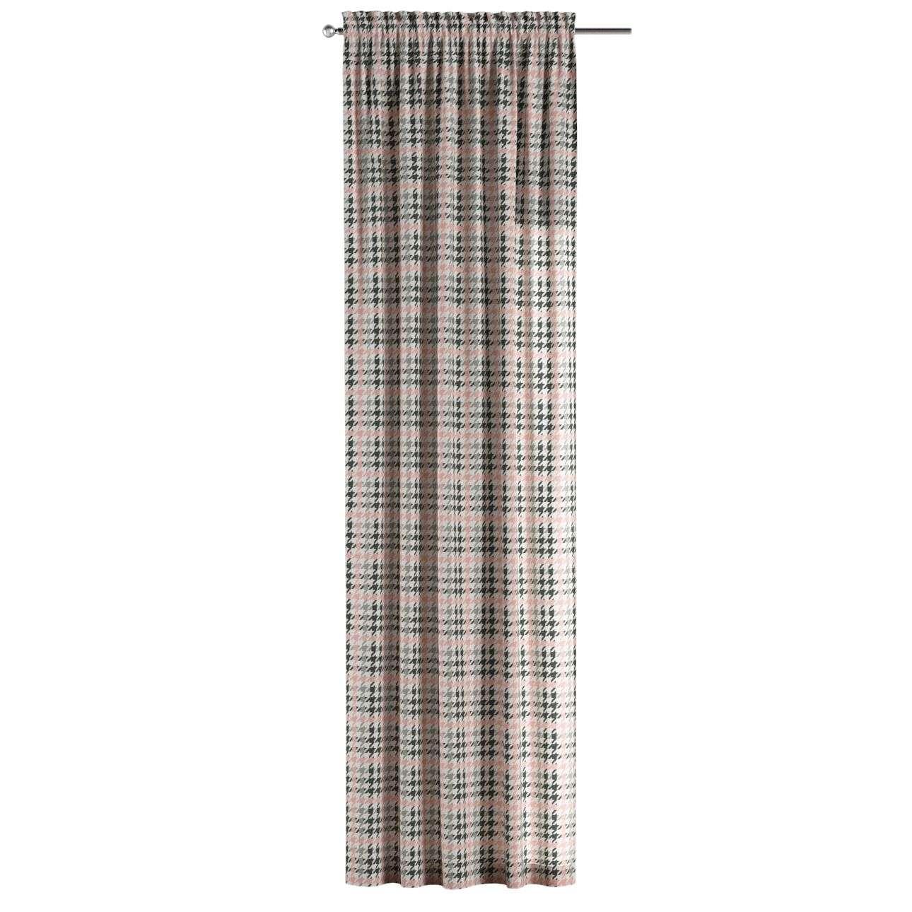 Gardin med løpegang - multibånd 1 stk. 130 × 260 cm fra kolleksjonen Brooklyn , Stoffets bredde: 137-75