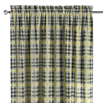 Slot and frill curtains 130 x 260 cm (51 x 102 inch) in collection Brooklyn, fabric: 137-79