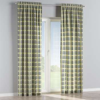 Slot and frill curtains 130 × 260 cm (51 × 102 inch) in collection Brooklyn, fabric: 137-79