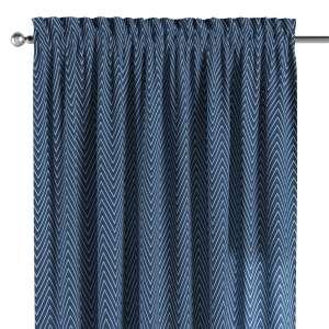 Zasłona na kanale z grzywką 1 szt. 1szt 130x260 cm w kolekcji Brooklyn, tkanina: 137-88