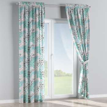 Slot and frill curtains 130 × 260 cm (51 × 102 inch) in collection Brooklyn, fabric: 137-89