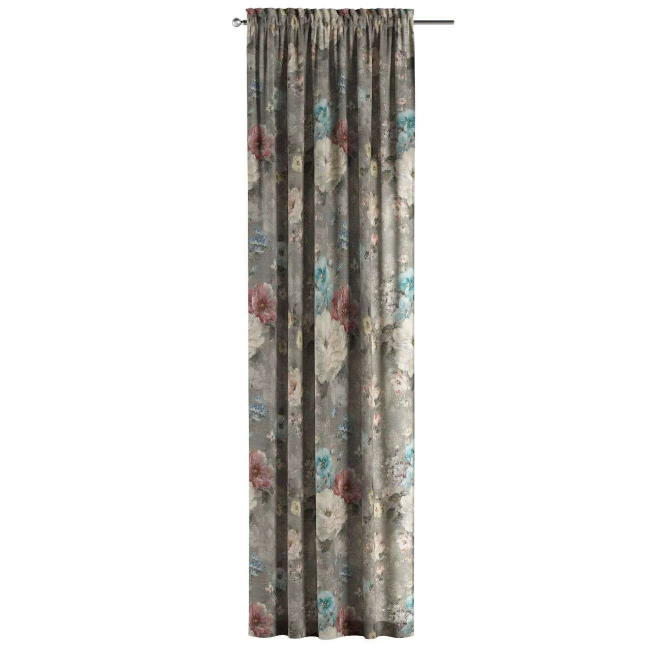 Gardin med kanal 1 längd 130 x 260 cm i kollektionen Monet , Tyg: 137-81