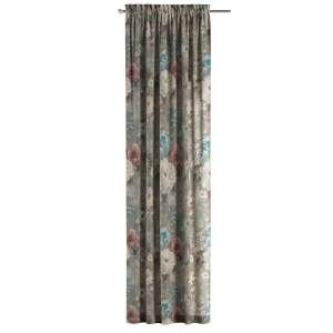 Zasłona na kanale z grzywką 1 szt. 1szt 130x260 cm w kolekcji Monet, tkanina: 137-81