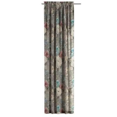 Záves s navliekacou riasiacou páskou V kolekcii Flowers, tkanina: 137-81