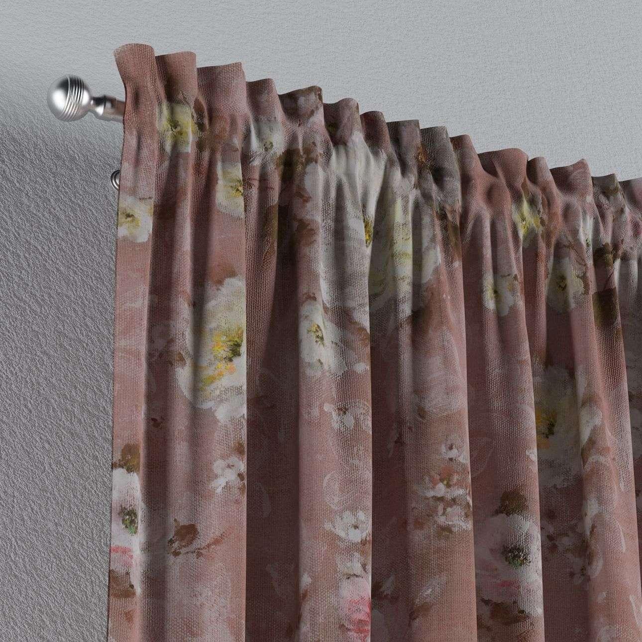 Vorhang mit Tunnel und Köpfchen 1 Stck. 130 x 260 cm von der Kollektion Monet, Stoff: 137-83