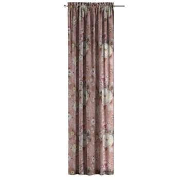 Bujtatós függöny rüssel a kollekcióból Monet Lakástextil, Dekoranyag: 137-83
