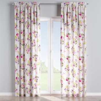 Slot and frill curtains in collection Monet, fabric: 140-00