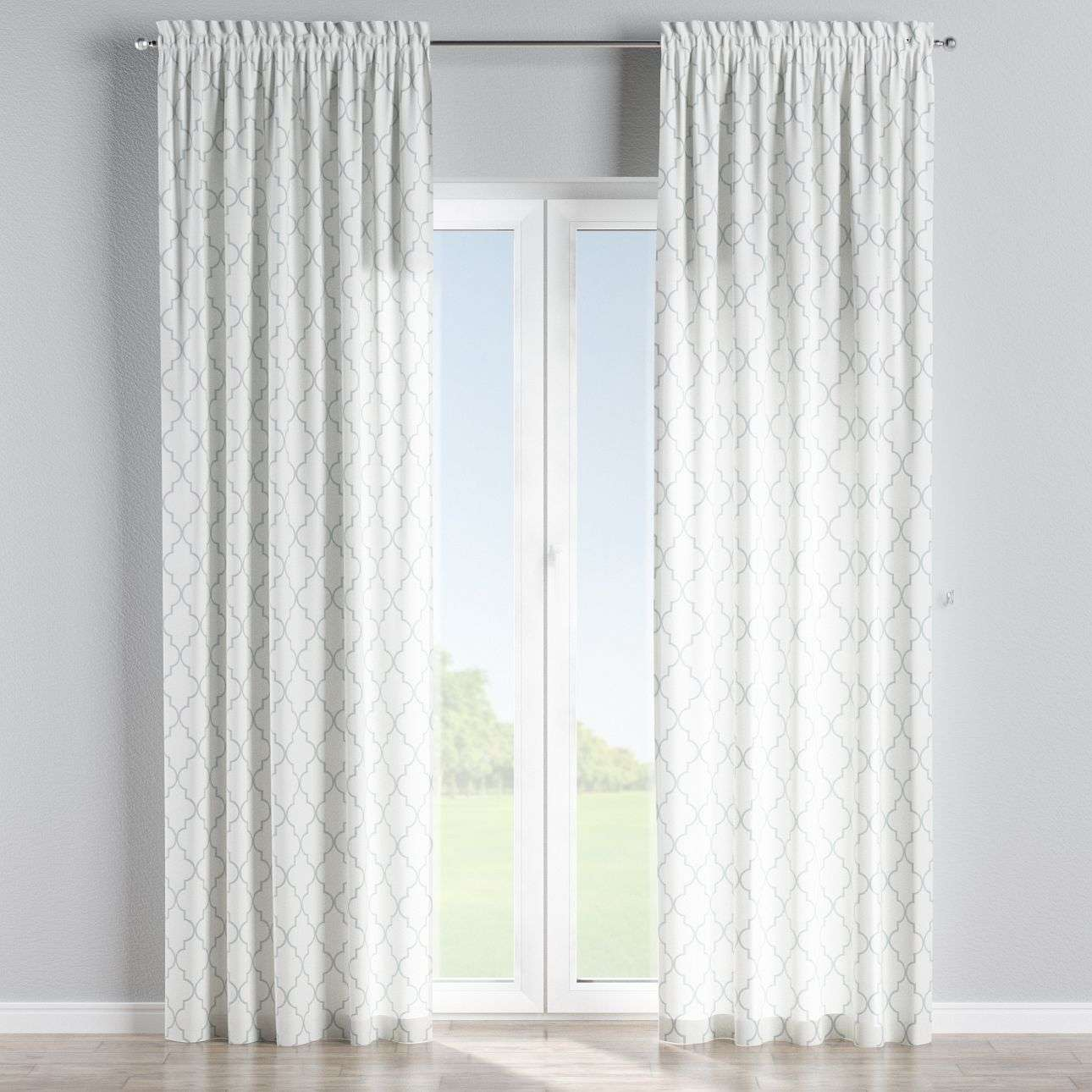 Slot and frill curtains in collection Comics/Geometrical, fabric: 137-85