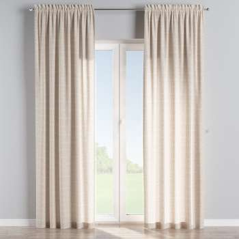 Slot and frill curtains 130 x 260 cm (51 x 102 inch) in collection Flowers, fabric: 140-39