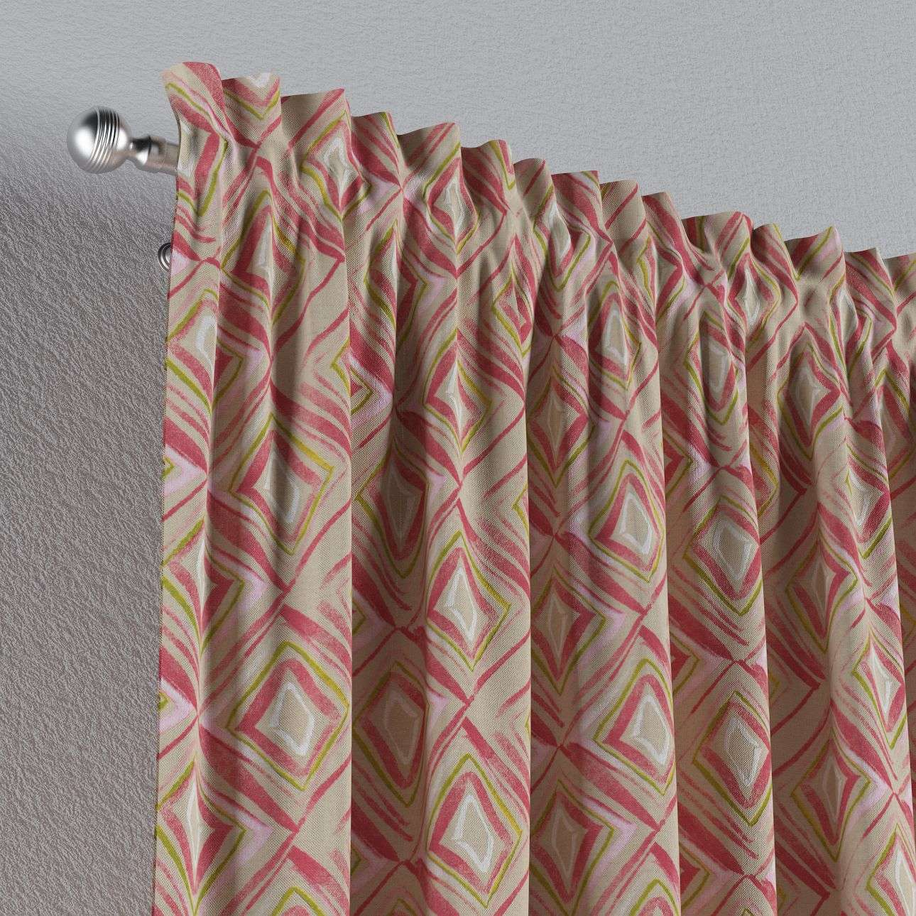 Slot and frill curtains in collection Londres, fabric: 140-45