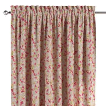 Slot and frill curtains 130 × 260 cm (51 × 102 inch) in collection Londres, fabric: 140-47