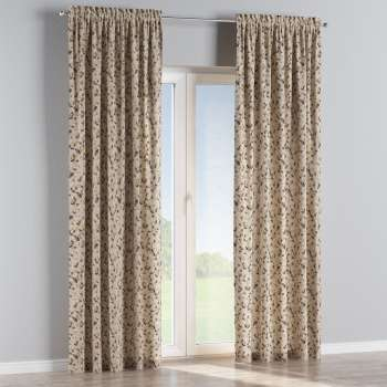 Slot and frill curtains 130 x 260 cm (51 x 102 inch) in collection Londres, fabric: 140-48