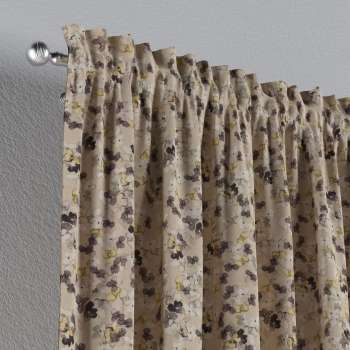 Slot and frill curtains 130 × 260 cm (51 × 102 inch) in collection Londres, fabric: 140-48