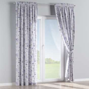 Slot and frill curtains 130 × 260 cm (51 × 102 inch) in collection Ashley, fabric: 140-18