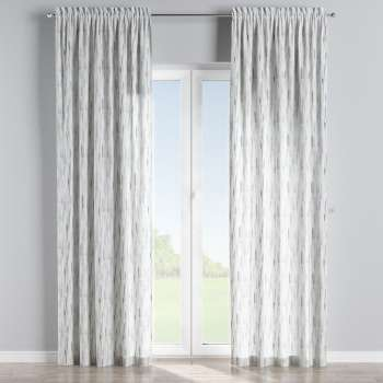 Slot and frill curtains in collection Aquarelle, fabric: 140-66