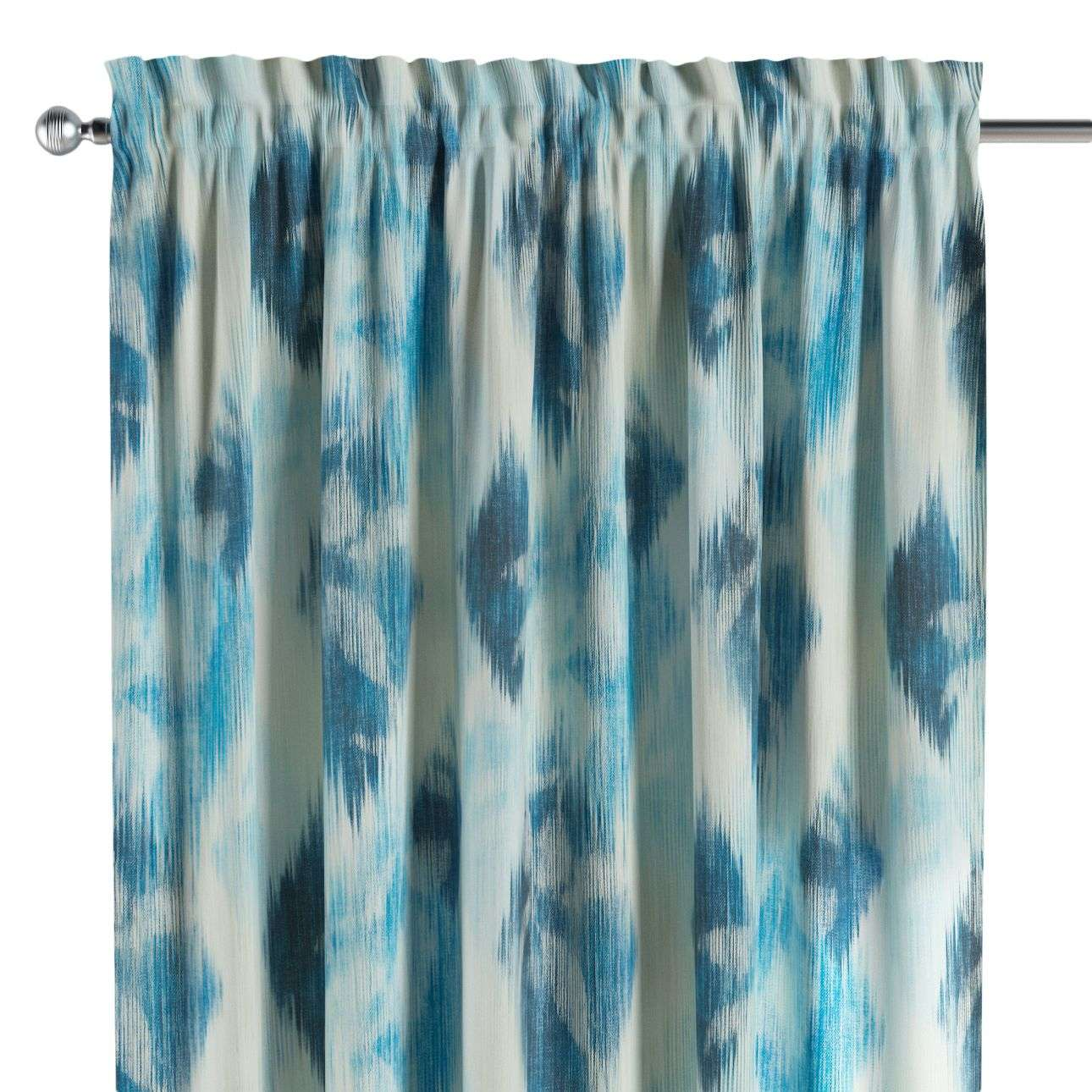 Slot and frill curtains 130 × 260 cm (51 × 102 inch) in collection Aquarelle, fabric: 140-71