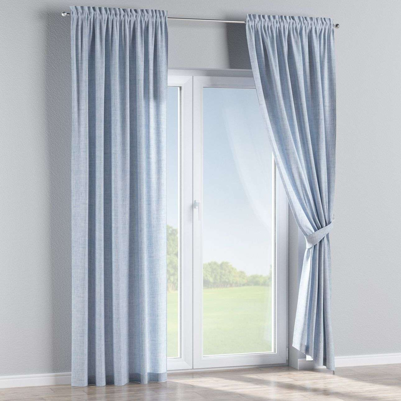 Slot and frill curtains 130 × 260 cm (51 × 102 inch) in collection Aquarelle, fabric: 140-74