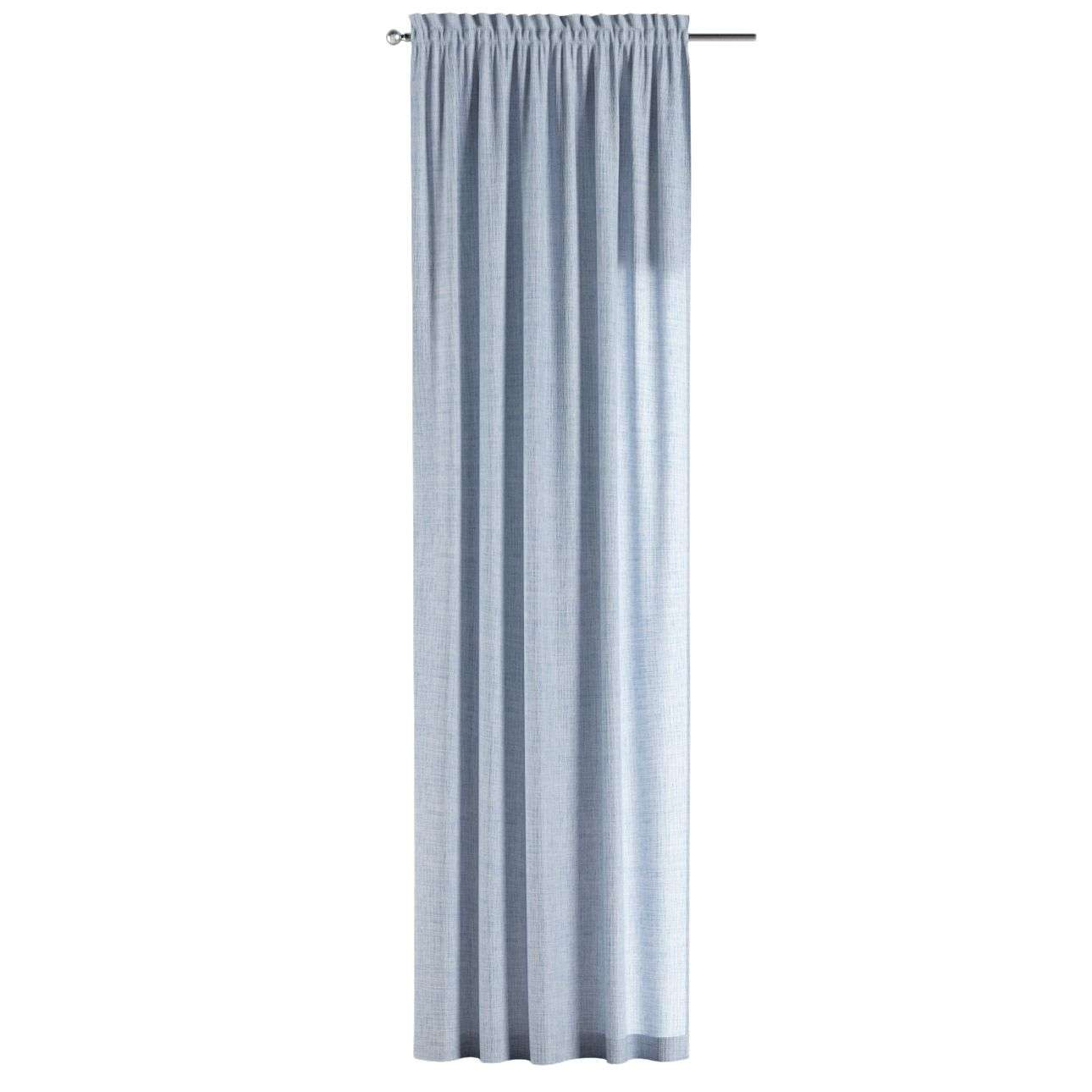 Slot and frill curtains in collection Aquarelle, fabric: 140-74
