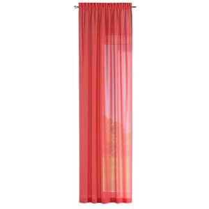 Zasłona na kanale z grzywką 1 szt. 1szt 130x260 cm w kolekcji Romantica, tkanina: 128-02