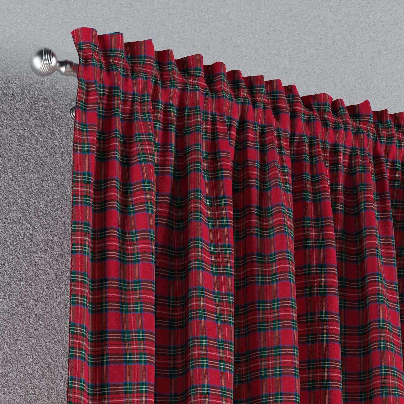 Záves s navliekacou riasiacou páskou V kolekcii Bristol, tkanina: 126-29