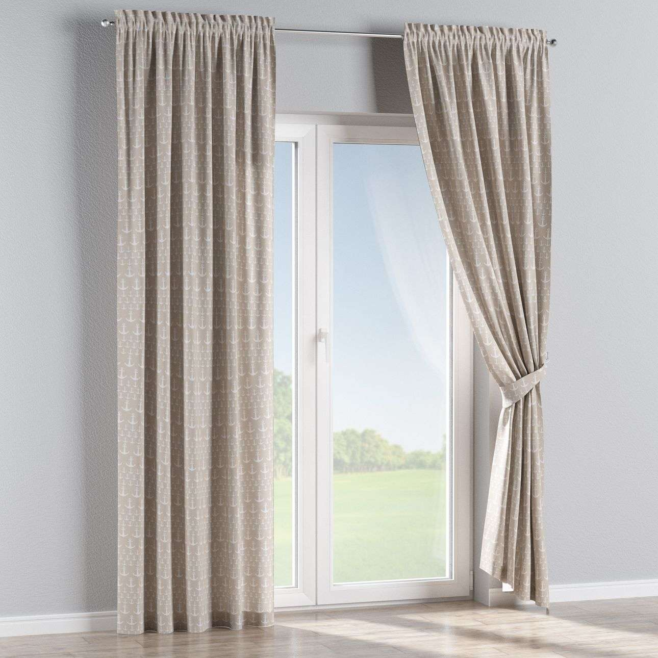 Slot and frill curtains in collection SALE, fabric: 140-63