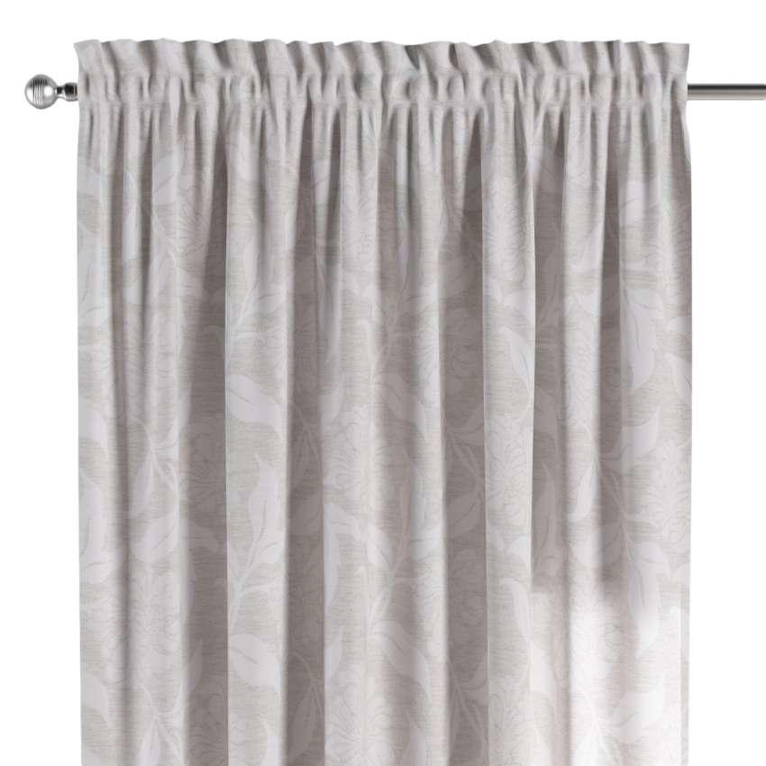 vorhang mit tunnel und k pfchen grau dekoria. Black Bedroom Furniture Sets. Home Design Ideas