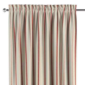 Zasłona na kanale z grzywką 1 szt. 1szt 130x260 cm w kolekcji Avinon, tkanina: 129-15