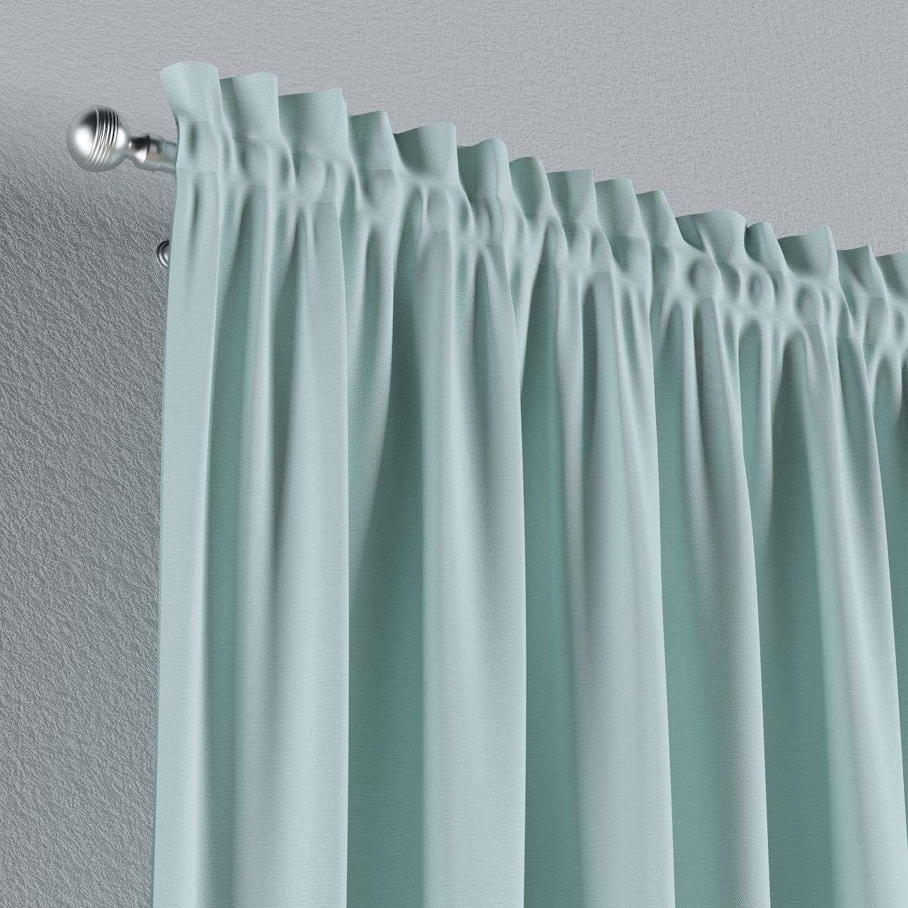 Záves s navliekacou riasiacou páskou V kolekcii Cotton Panama, tkanina: 702-10