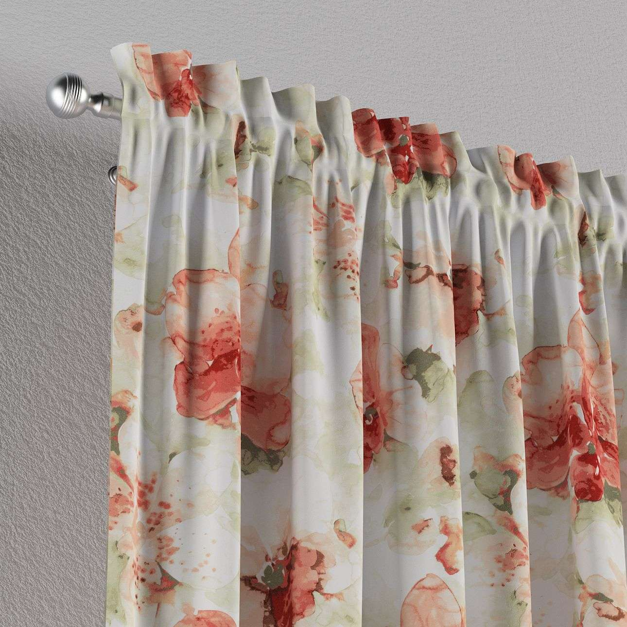 Slot and frill curtains in collection Acapulco, fabric: 141-34