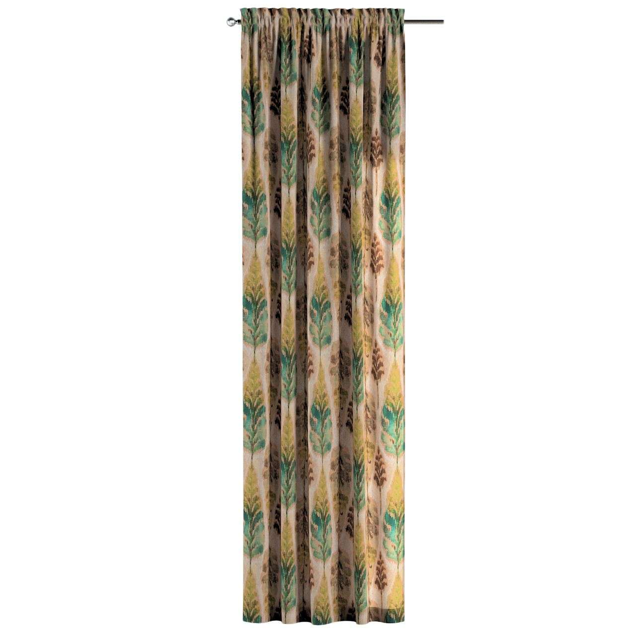 Slot and frill curtains in collection Urban Jungle, fabric: 141-60