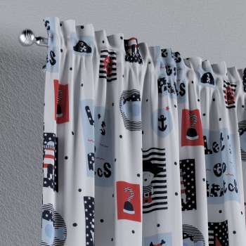 Slot and frill curtains 130 x 260 cm (51 x 102 inch) in collection Little World, fabric: 141-29
