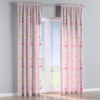 Slot and frill curtains 130 x 260 cm (51 x 102 inch) in collection Little World, fabric: 141-50