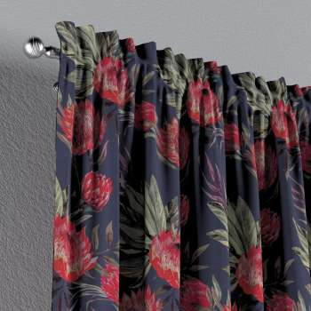 Slot and frill curtains 130 x 260 cm (51 x 102 inch) in collection New Art, fabric: 141-57