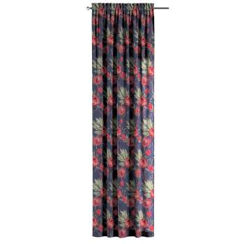 Slot and frill curtains 130 × 260 cm (51 × 102 inch) in collection New Art, fabric: 141-57
