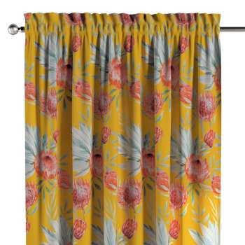 Slot and frill curtains 130 x 260 cm (51 x 102 inch) in collection New Art, fabric: 141-58