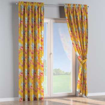 Slot and frill curtains in collection New Art, fabric: 141-58
