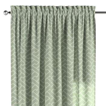 Slot and frill curtains 130 x 260 cm (51 x 102 inch) in collection Comic Book & Geo Prints, fabric: 141-63