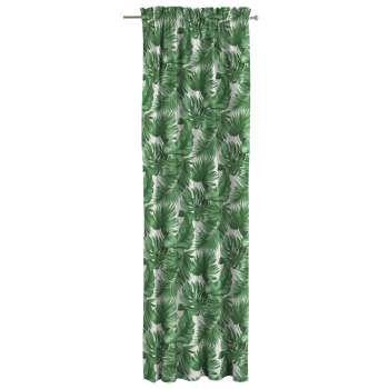 Slot and frill curtains 130 x 260 cm (51 x 102 inch) in collection Urban Jungle, fabric: 141-71