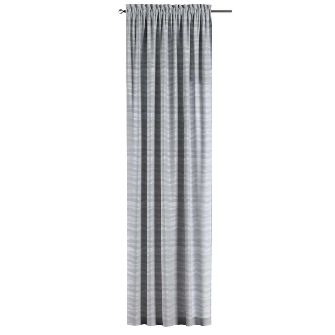 Záves s navliekacou riasiacou páskou V kolekcii Damasco, tkanina: 141-72