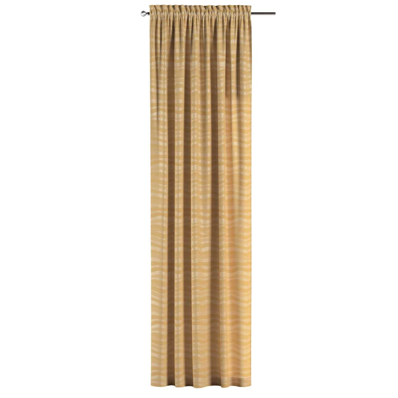 Záves s navliekacou riasiacou páskou V kolekcii Damasco, tkanina: 141-74
