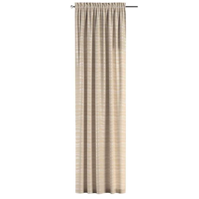 Záves s navliekacou riasiacou páskou V kolekcii Damasco, tkanina: 141-76
