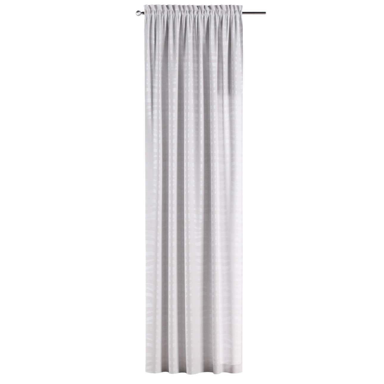 Slot and frill curtains in collection Damasco, fabric: 141-87