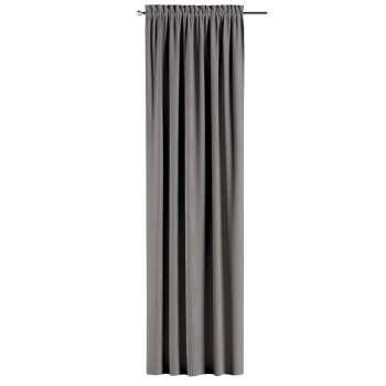 Gardin med løbegang - multibånd 130 × 260 cm fra kollektionen Velvet, Stof: 704-11