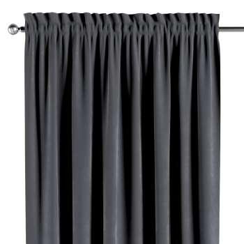 Gardin med løbegang - multibånd 130 × 260 cm fra kollektionen Velvet, Stof: 704-12